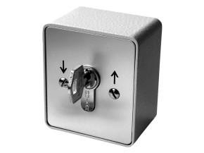 Schlüssel Schalter Aufputz - 2 seitig schaltbar