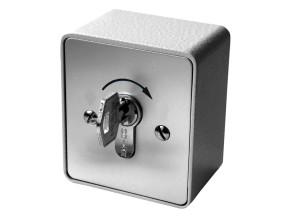 Schlüssel Taster Aufputz 1-seitig schaltbar