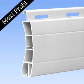 PVC Maxi Rolladenpanzer Frankfurt 14,0 x 50 Kunststoff - in 3 Farben lieferbar